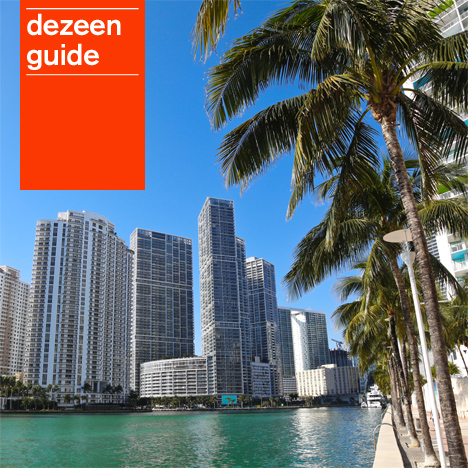 Dezeen Guide update: December. Miami photo from Shutterstock