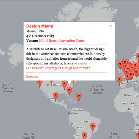 Dezeen Guide update Design Miami