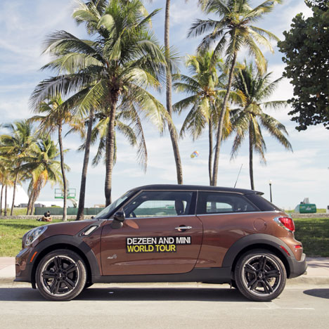 Our MINI Paceman in Miami