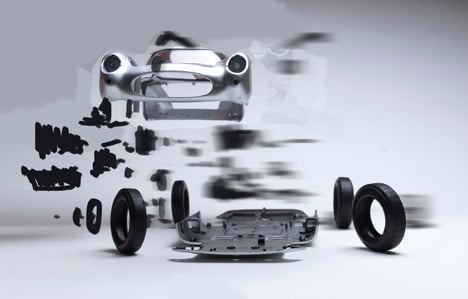 Disintegrating and Hatch cars by Fabien Ofner