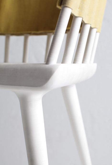 Dowel chair in Collection 01