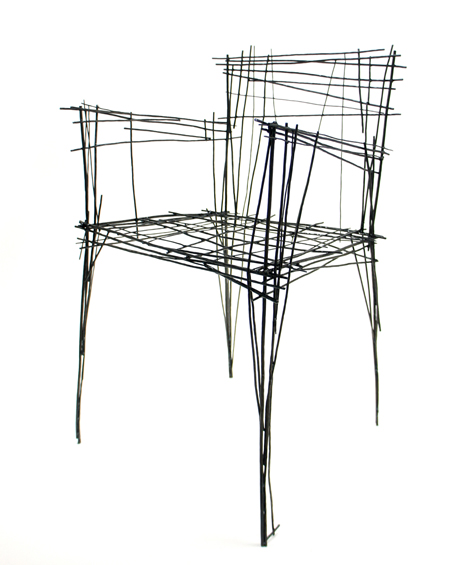 Drawing Furniture series by Jinil Park