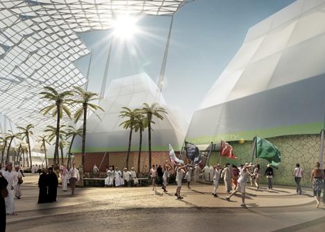 HOK masterplan leads Dubai to Expo 2020 victory