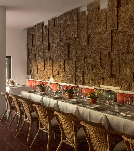 Cork-clad Ecork Hotel in Portugal by José Carlos Cruz