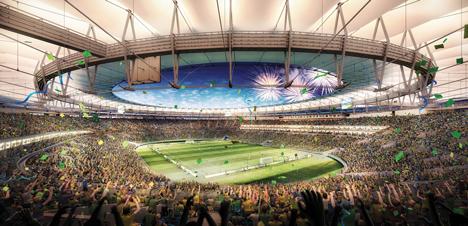 Estadio do Maracana by Fernandes Arquitetos Associados