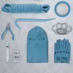 Ex-Boyfriend Revenge Kit features colour-coordinated weapons