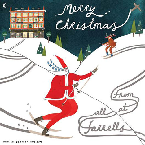 Farrells Communication christmas card