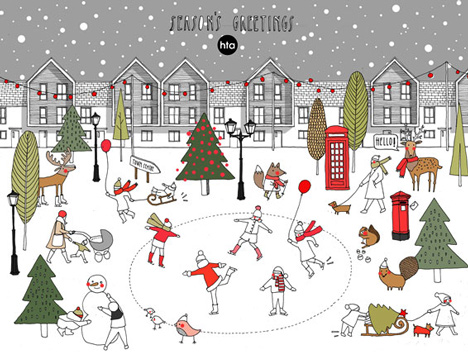 HTA Design LLP christmas card