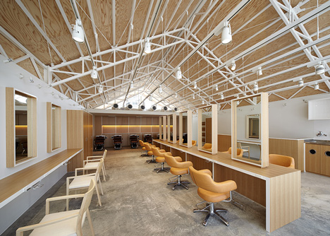 Hairdo by Ryo Matsui Architects