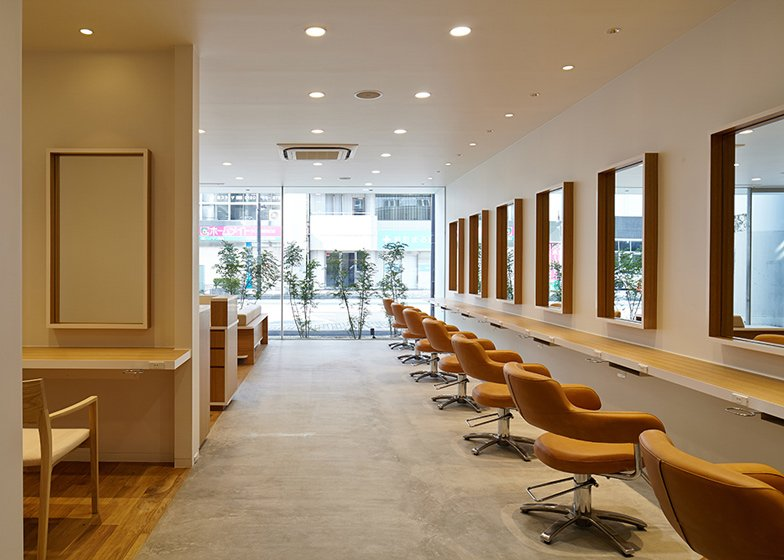 Hairdo by Ryo Matsui Architects