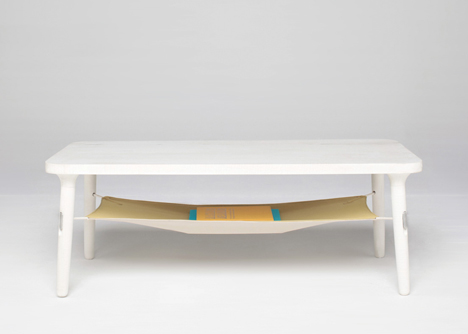 Hammock table in Collection 01 by NTN