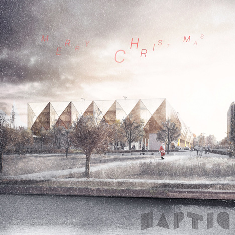 Haptic Architects christmas card