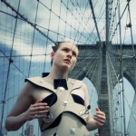 Di Mainstone's Human Harp creates music from suspension bridges