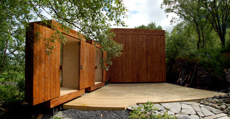 Hustadvika Tools, annex and tool shed by Rever & Drage Architects