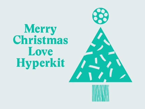 Hyperkit christmas card