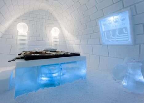 It's Alive! Frankenstein-themed Icehotel room by PINPIN Studio