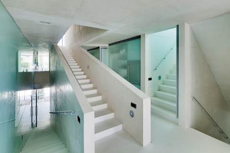Jellyfish House by Wiel Arets