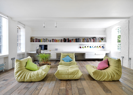 London Warehouse Loft by Form Design Architecture