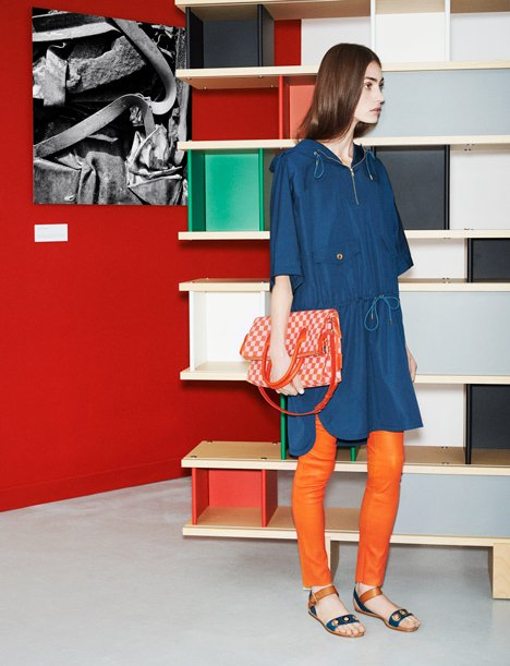Louis Vuitton SS14 Icones fashion collection influenced by Charlotte Perriand