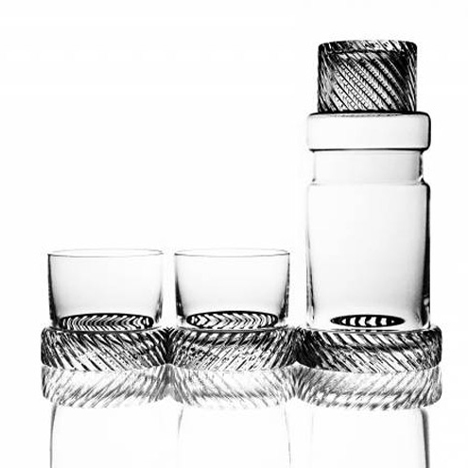 Luminaire Holiday Gift Guide Module Two Whiskey Glassware