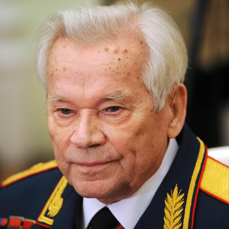 Mikhail Kalashnikov portrait