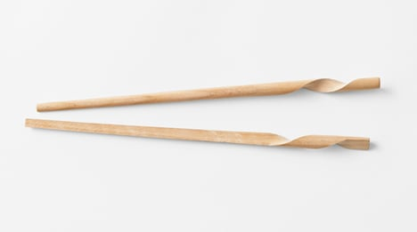 Nendo chopsticks for Hashikura Matsukan _dezeen_13