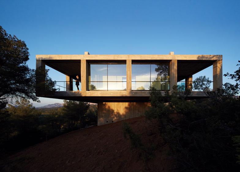 Pezo von Ellrichshausen's Casa Pezo is first of 12 architect-designed dream houses