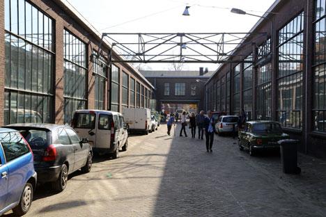 Piet Hein Eek's studio in Eindhoven