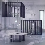 Imaginary restaurant designed like a prison by Karina Wiciak