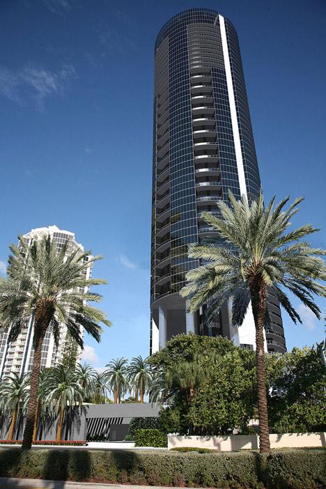Porsche Design Tower in Miami
