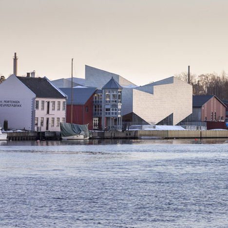 COBE and Transform complete the zigzagging Porsgrunn Maritime Museum