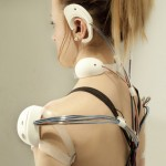 Reality Mediators wearable technology by Ling Tan punishes laziness