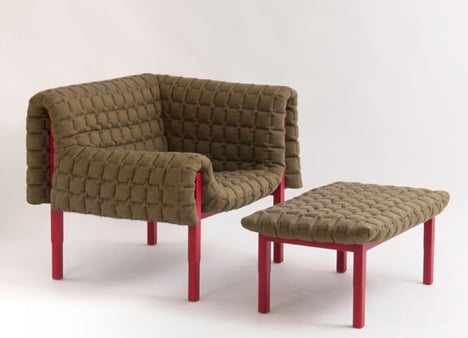 Ruché Armchair by Inga Sempé for Ligne Roset