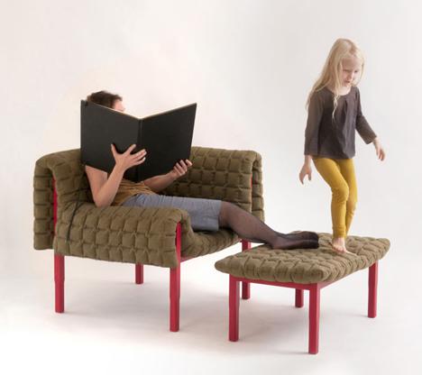 Ruché Armchair by Inga Sempé for Ligne Roset