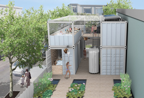 SOAK Urban bathhouse project San Francisco by Nell Waters and Rebar