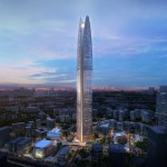 SOM unveils Indonesian skyscraper that will harness wind power