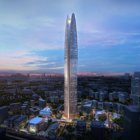 SOM unveils Indonesian skyscraper<br /> that will harness wind power