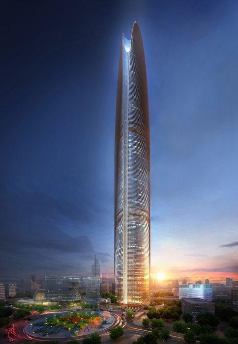 Pertamina Energy Tower by SOM is an Indonesian skyscraper that will harness wind power