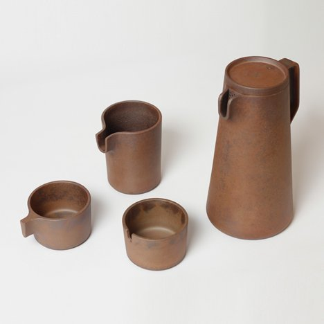 Silt tea set by VW+BS