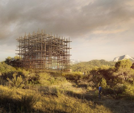 Sou Fujimoto's Geometric Forest to feature in series of Spanish dream houses