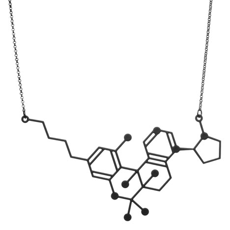 Spliff necklace_Designer Drugs By Aroha Silhouettes_dezeen_22