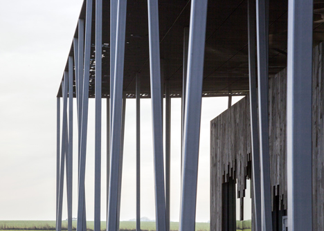 Stonehenge Visitor Centre by Denton Corker Marshall