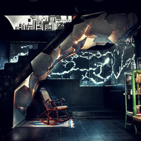 Subterranean Concrete Orgy by Studioverket