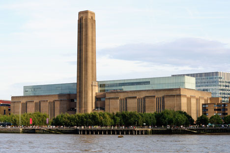 Tate Modern in London by Herzog and de Meuron