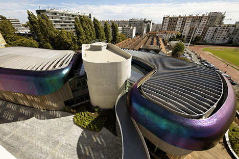 Tertiary campus IN/OUT in Boulogne Billancourt by Jouin Manku