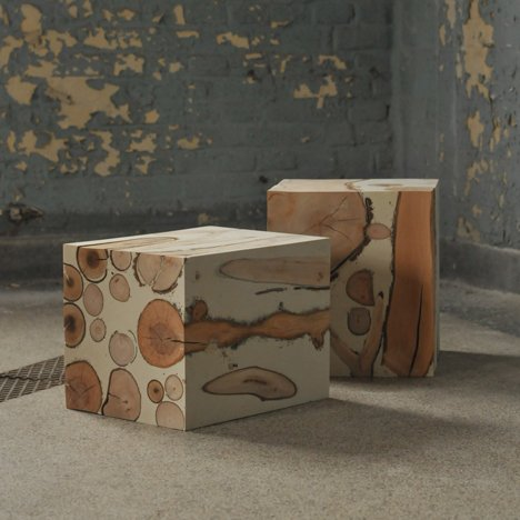 Importance of the Obvious furniture that looks like sweets by Matthias Borowski