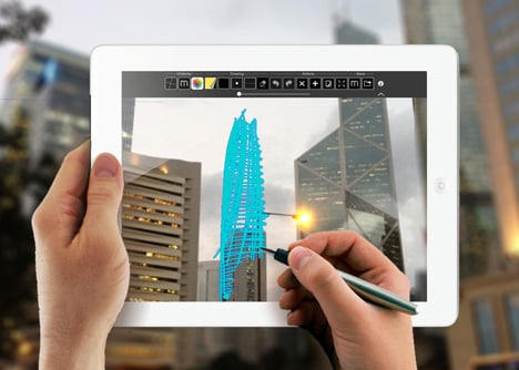 Trace 2 app by The Morpholio Project_dezeen_1