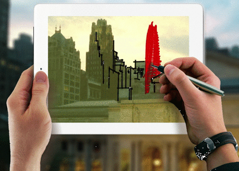 Trace 2 app by The Morpholio Project_dezeen_4