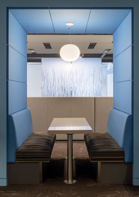 Twitter's colourful global headquarters by IA Architects and Lundberg Design