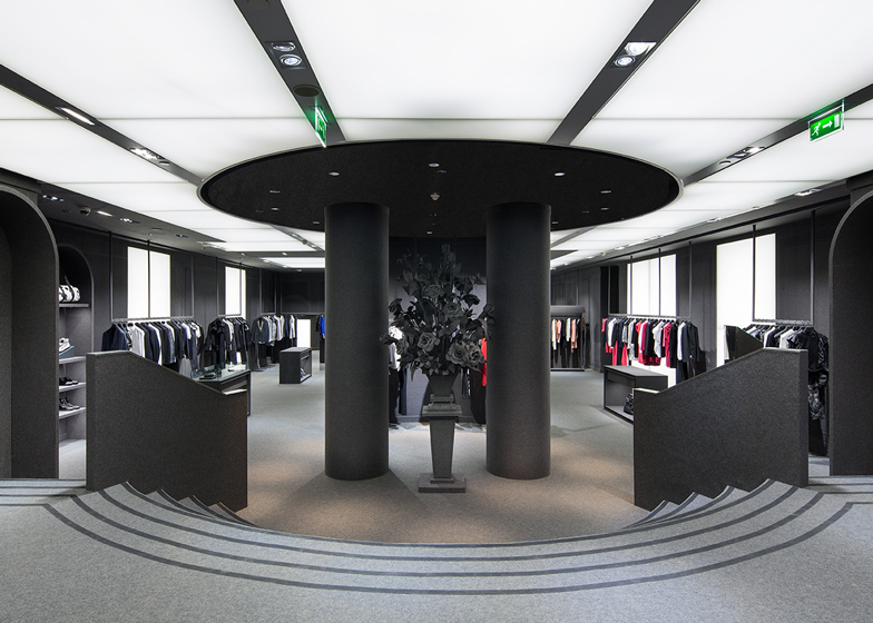 Viktor & Rolf flagship store in Paris by Architecture and Associes